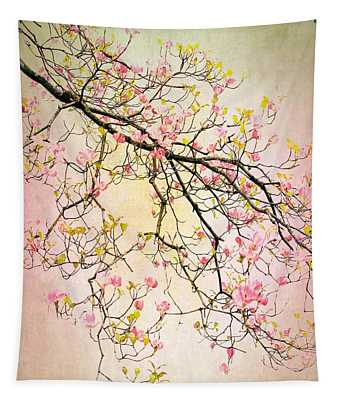 Dogwood Delight Tapestry