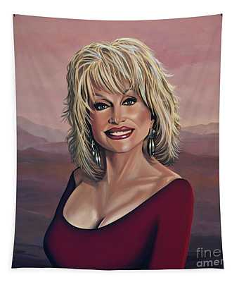 Dolly Parton 2 Tapestry