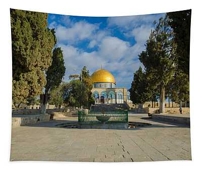Dome Of The Rock Tapestry
