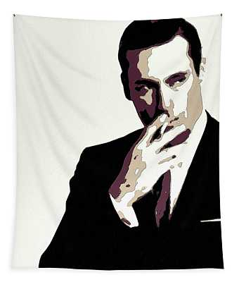 Don Draper Poster Art Tapestry