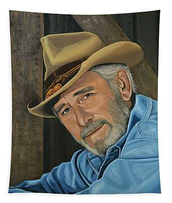 Don Williams Painting Tapestry
