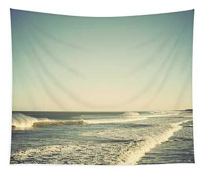 Down The Shore - Seaside Heights Jersey Shore Vintage Tapestry