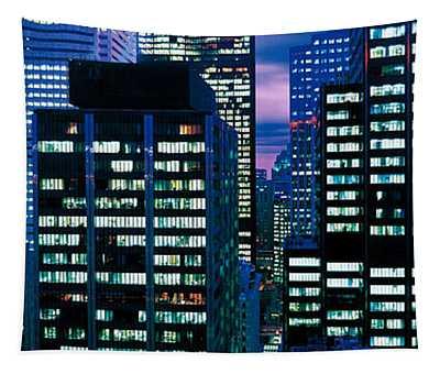 Downtown Buildings Toronto Ontario Tapestry