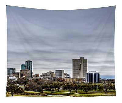 Downtown Fort Worth Trinity Trail Tapestry