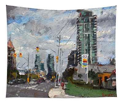 Downtown Mississauga On Tapestry