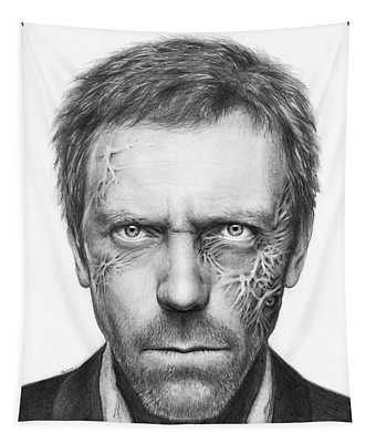 Dr. Gregory House - House Md Tapestry