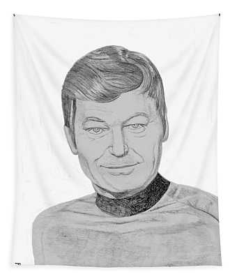 Dr. Leonard Mccoy Tapestry