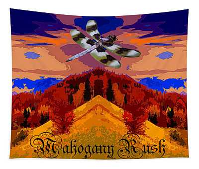 Dragonfly Morning 1 Tapestry