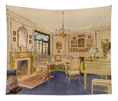 Drawing Room Adam Revival Style Tapestry