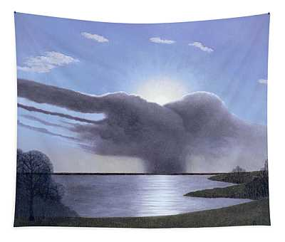 Draycote Cloud, 2004 Oil On Canvas Tapestry