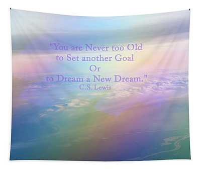 Dream A New Dream Tapestry