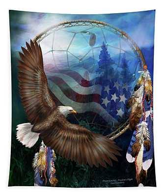 Dream Catcher - Freedom's Flight Tapestry