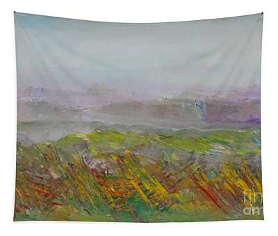 Dreamy Landscape Abstract Tapestry