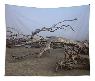 Driftwood Trees On Jekyll Island Tapestry