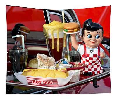 Drive-in Food Classic Tapestry