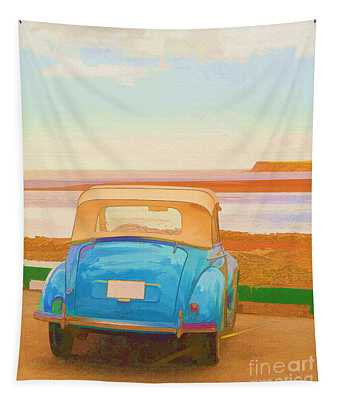 Drive To The Shore Tapestry