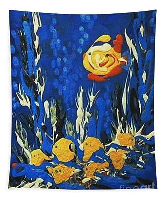 Drizzlefish Tapestry