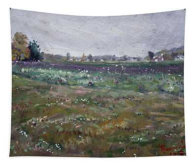 Drizzly Day By Shaw Barn  Tapestry