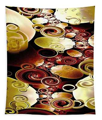 Drops And Ripples Tapestry