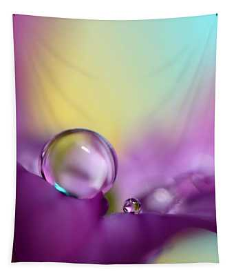 Drops Of Spring Colour Tapestry