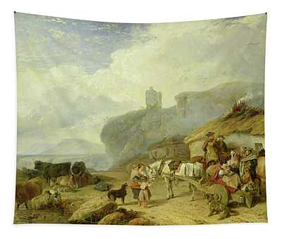 Drovers Halt, Island Of Mull Tapestry