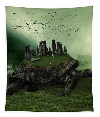 Druid Golf Tapestry