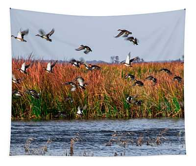 Duck Blind Tapestry