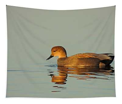 Duck Reflected Tapestry