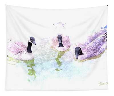 Ducks Tapestry