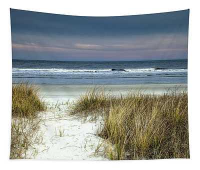 Dusk In The Dunes Tapestry