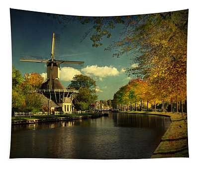 Dutch Windmill Tapestry