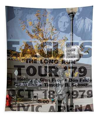 Eagles The Long Run Tour Tapestry