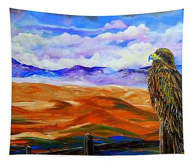 Eagles Watch Tapestry
