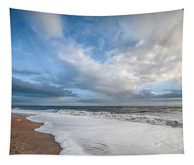 Early Morning Vilano Beach Tapestry