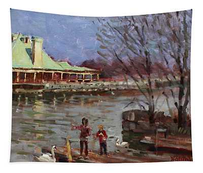 Early Spring In Portcredit Mississauga Tapestry