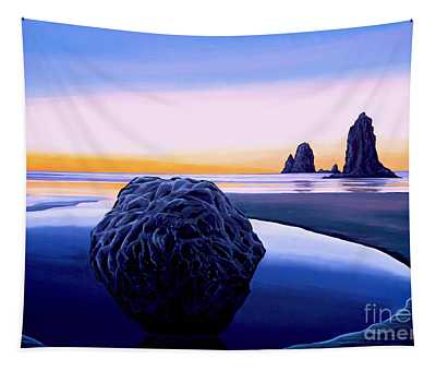 Earth Sunrise Tapestry