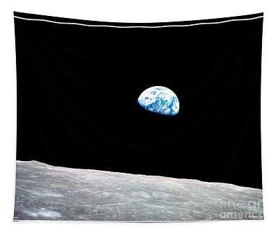Earthrise Nasa Tapestry