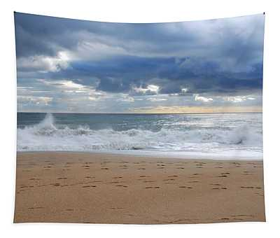 Earth's Layers - Jersey Shore Tapestry