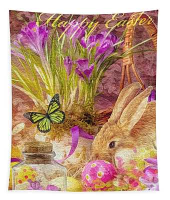 Easter Bunny Tapestry