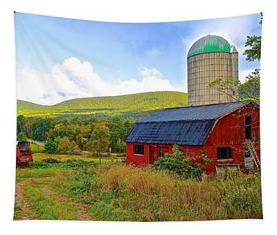 Eastern Pa Farm Tapestry