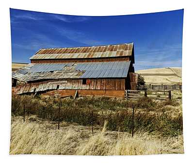 Eastern Washington Barn Tapestry