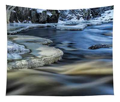 Eau Claire River Ice Tapestry