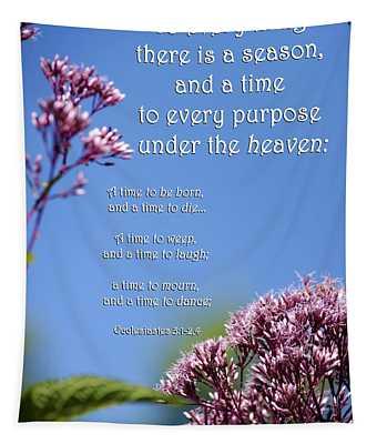 Ecclesiastes 3-1 Tapestry