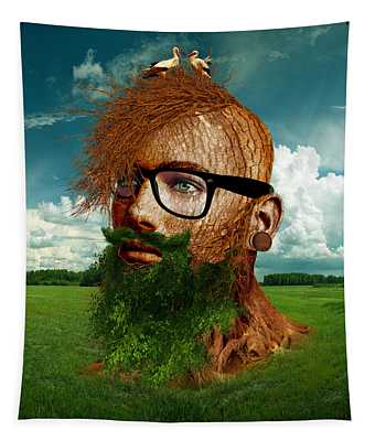 Eco Hipster Tapestry