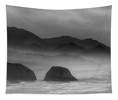 Ecola State Park - Oregon State Coast Tapestry