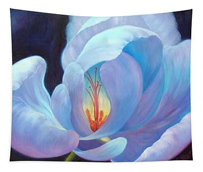 Tapestry featuring the painting Ecstasy by Sandi Whetzel