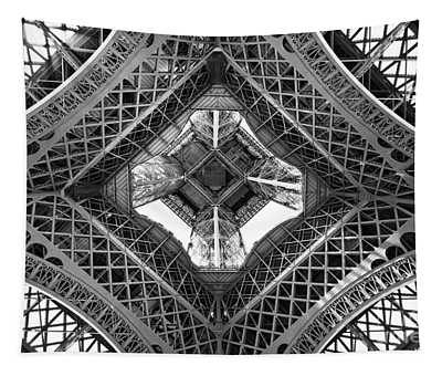 Eiffel Abstract Tapestry
