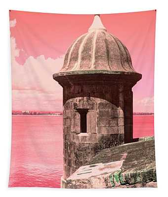 El Morro In The Pink Tapestry