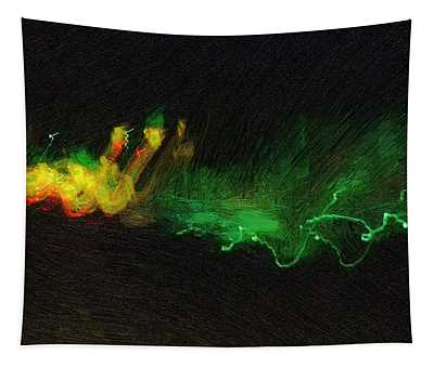 Electric Unconscious Tapestry