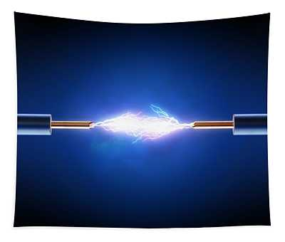 Electric Current / Energy / Transfer Tapestry